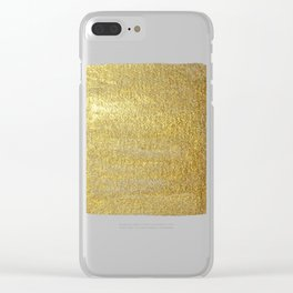 Golden Sun of the Mayas Clear iPhone Case