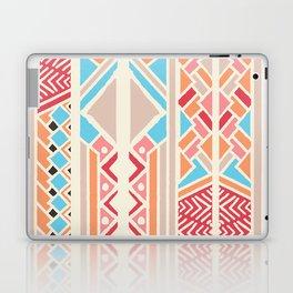 Tribal ethnic geometric pattern 033 Laptop & iPad Skin