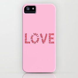 Made for Me and You iPhone Case