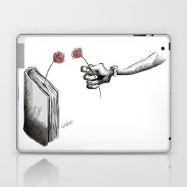 If you don't have love , Go & Read a Novel . Laptop & iPad Skin