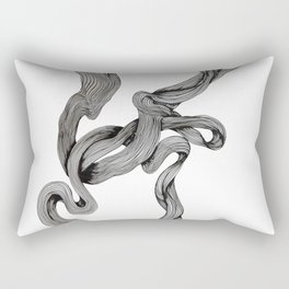 Drawing Weird Stuff Rectangular Pillow