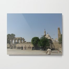 Temple of Luxor, no. 6 Metal Print