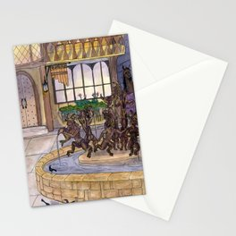 Early Morning at the Eolian Stationery Cards