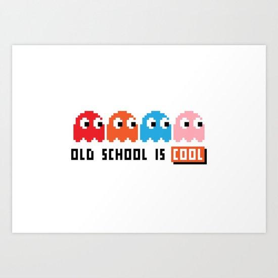 Pacman Art Print