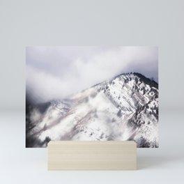 Psychedelic Mountain Dreams Mini Art Print