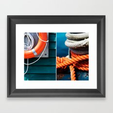 Nautica  Framed Art Print