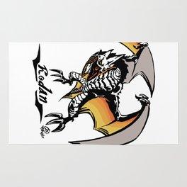 Rodan Kaiju Print Rug