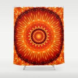 Mandala independence Shower Curtain