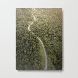 Rural road Metal Print