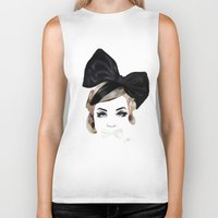 bows Biker Tanks featuring Bows by SoulDeep