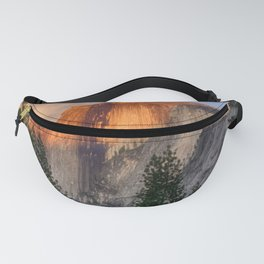 Sunset on Half Dome Fanny Pack