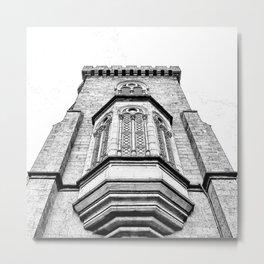 Bay Windows of The Castle. Metal Print