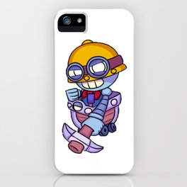 Carl design HD | Brawl Stars iPhone Case