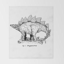 Figure One: Stegosaurus Throw Blanket