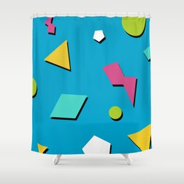 Fresh Prince 90s Pattern Shower Curtain