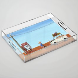 The Out of Service Phone Box Acrylic Tray