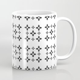 Flag of new mexico 3 : Black and white version Coffee Mug