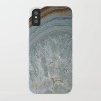 agate iPhone & iPod Cases featuring Agate by CAROL HU