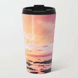 Maldivian sunset 4 Travel Mug