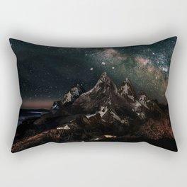 Velaris, City of Starlight, Night Court, A Court of Thorns and Roses Rectangular Pillow