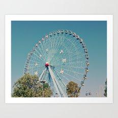 Sweet memories at the fair! Art Print