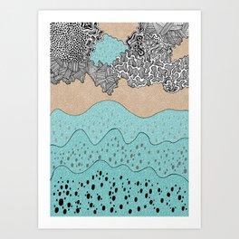 Corals Art Print