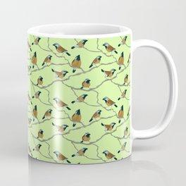 Black-Throated Finches Coffee Mug