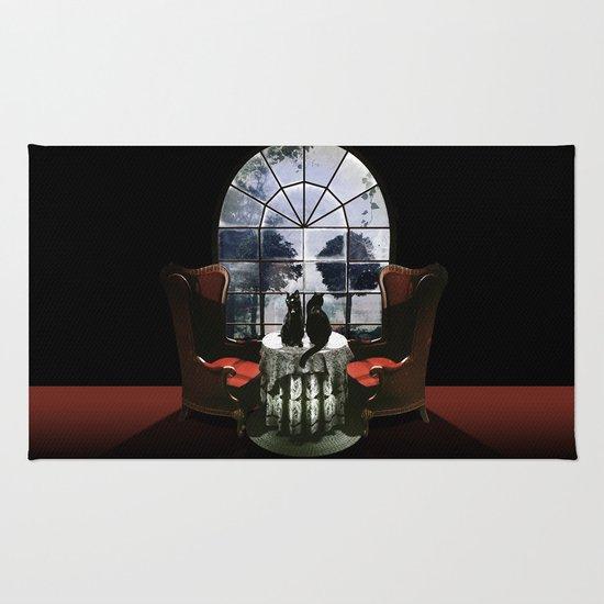 Room Skull Rug