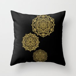 Mandala Leggings Throw Pillow
