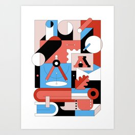 Creative Engineering Art Print