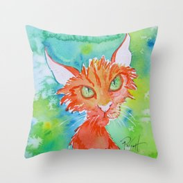 Such A Peach Throw Pillow