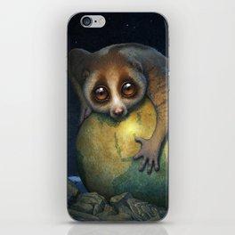 Loris Planet iPhone Skin
