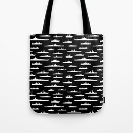 Battleship // Black Tote Bag