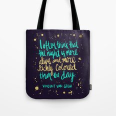 Night Owl on Navy Tote Bag