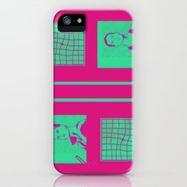 """Shaking the Habitual"" by Virginia McCarthy iPhone Case"