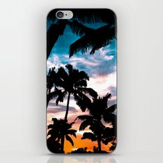 Palm trees dream iPhone & iPod Skin