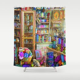 Kitty Heaven Shower Curtain