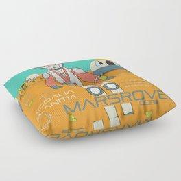 The Martian Floor Pillow