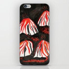 Volcanoes at Night iPhone Skin