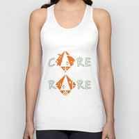 rare Tank Tops featuring Care for the rare by SilviaGancheva