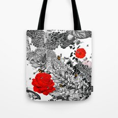 Bee Stung - Red Tote Bag