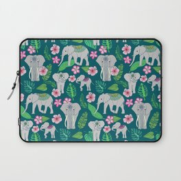 Elephants of the Jungle Laptop Sleeve
