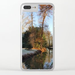 A Warm Welcome of Winter Clear iPhone Case