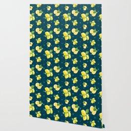 Lemon Pattern 09 Wallpaper