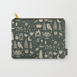Winter Nights: Forest Carry-All Pouch