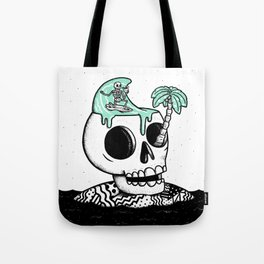 Surfer Thoughts Tote Bag