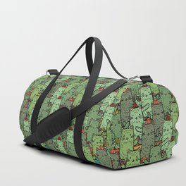 Catcus Garden Duffle Bag