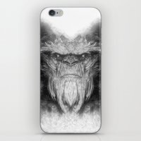 sasquatch iPhone & iPod Skins featuring Sasquatch by Zandonai