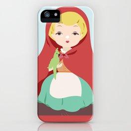 Porcelain Girl (Blond) iPhone Case