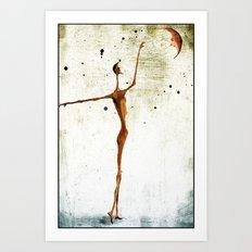 Moonlover Art Print